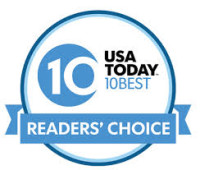 USA Today 10 Best Reader's Choice Award