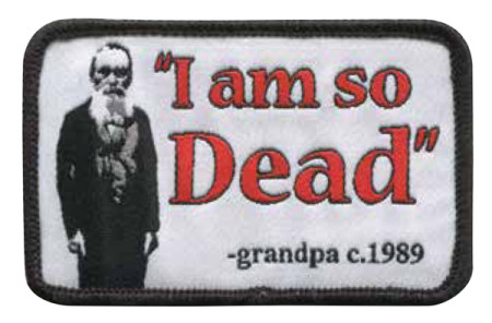 "FDGD ""I am so Dead"" Patch"