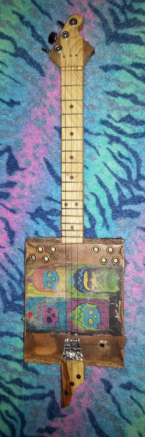 FDGD Cigar Box Guitar