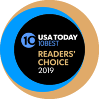 USA Today 10 Best Readers' Choice Award